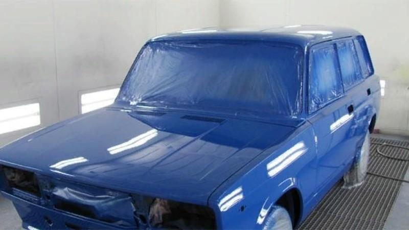 Покраска авто: окрасочные аппараты и не только