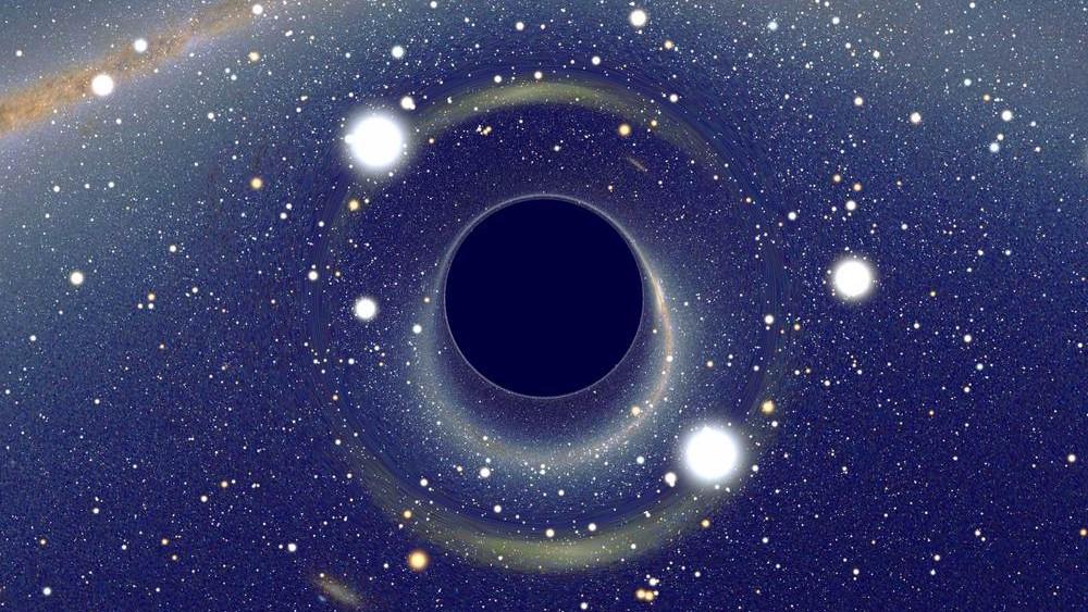 Черная дыра, которая находится в центре Млечного пути, по какой-то причине не пожирает G-объекты