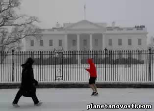 Снежный шторм накрыл США