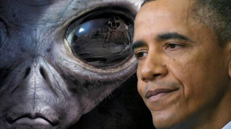 Барак Обама намекнул на то, что инопланетяне существуют