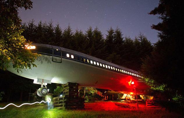 Жилой дом Брюса Кэмпбела из Boeing 727