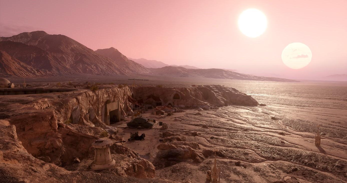 Возле двойной звезды ученые нашли планету Татуин из Звездных войн