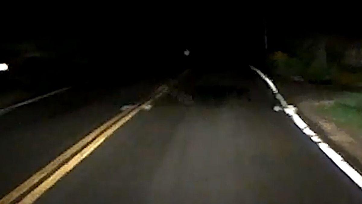 Водитель чуть не сбил кого-то на трасе: запись с видеорегистратора шокировала его