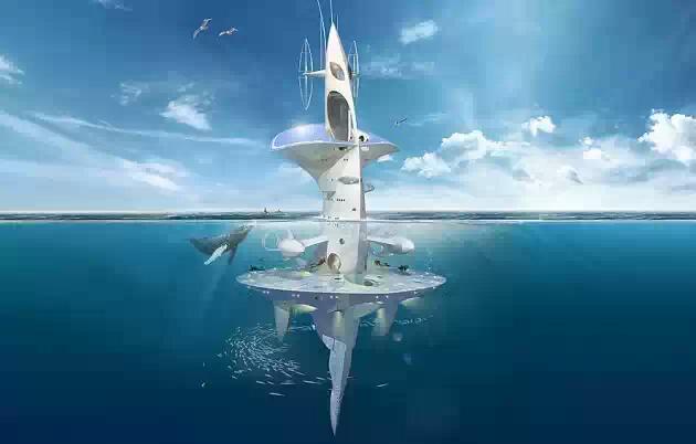 Космический научный корабль для моря
