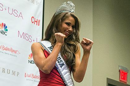 Титул «Мисс США» выиграла обладательница черного пояса по тхэквондо