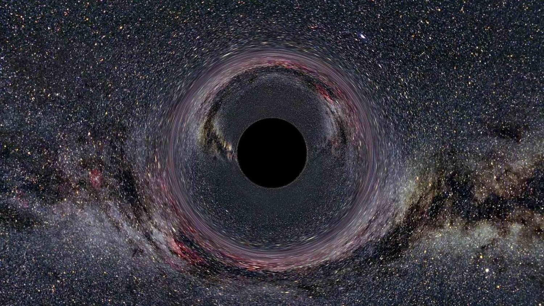 Ученые увидели, как черная дыра пожирает материю
