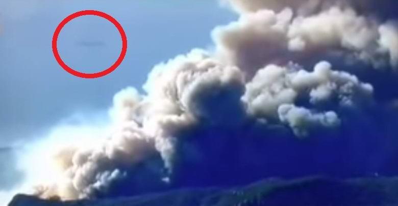 НЛО в Калифорнии: журналисты во время пожара запечатлели корабль инопланетян