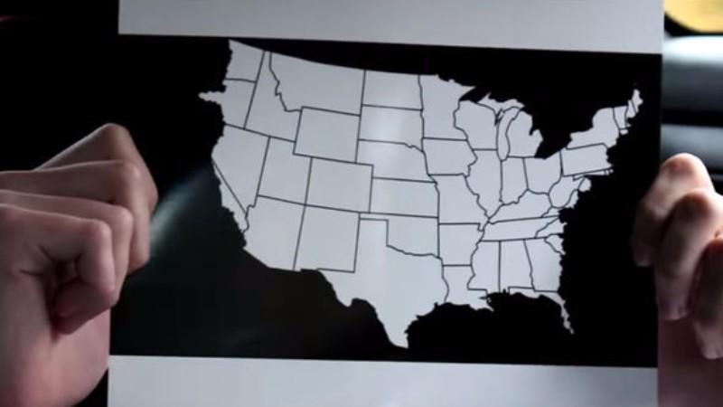 Часть США уйдет под воду: путешественник во времени показал карту Америки