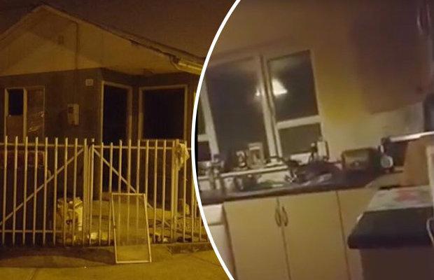 В Чили полтергейст швырнул нож в полицейского