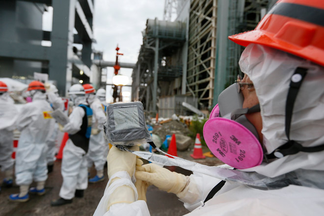 На «Фукусиме-1» произошла очередная утечка радиации