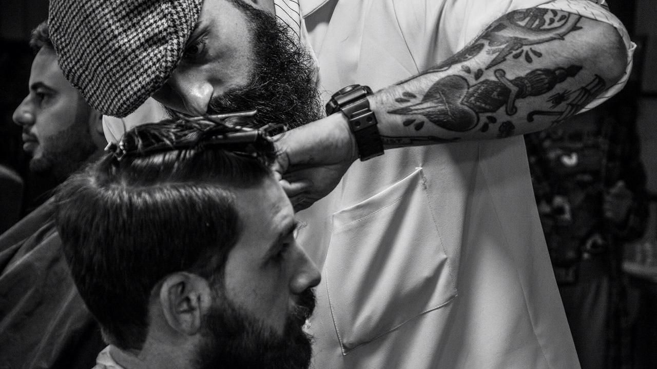 История символа Barber's Pole