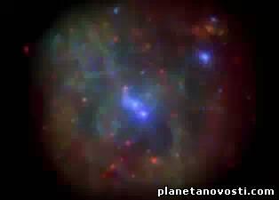Ученые ждут столкновения в центре нашей галактики