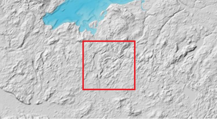 На территории Германии обнаружили гигантскую кольцевую структуру