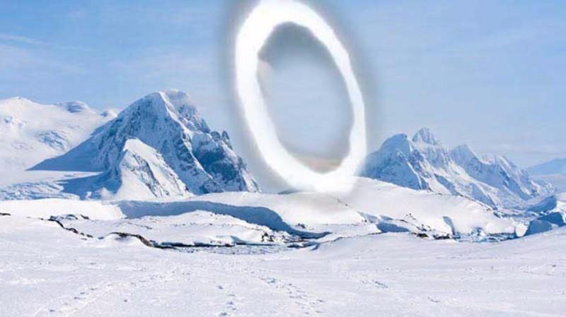 Ученые нашли в Антарктиде временной портал