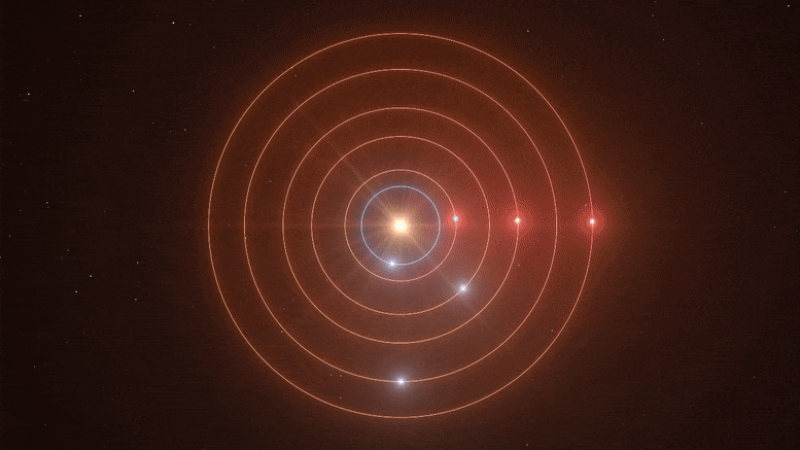 В 200 световых лет от Земли находятся планеты, которые издают удивительную мелодию