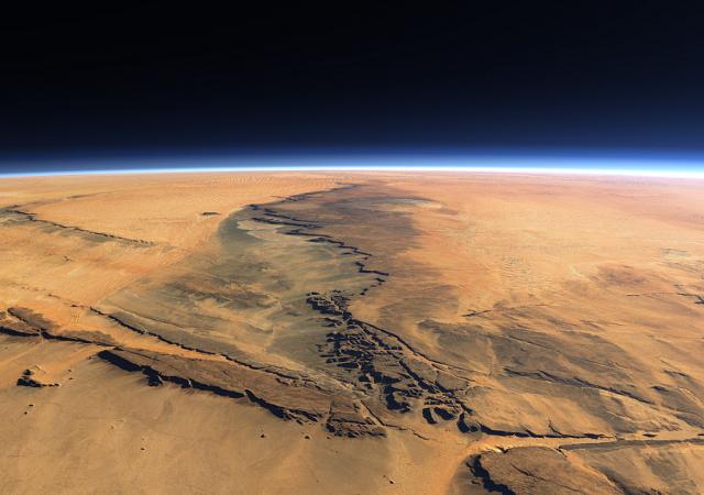 Ученые зафиксировали «дыхание» Марса