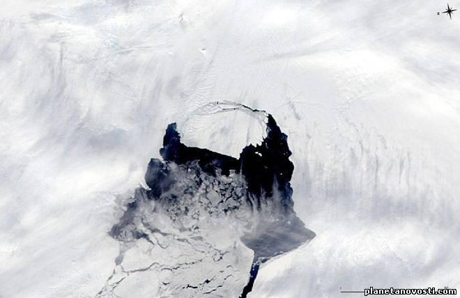 Ледник Пайн-Айленд в Антарктиде безвозвратно тает