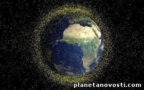 Космический мусор будут уничтожать с помощью лазеров с Земли