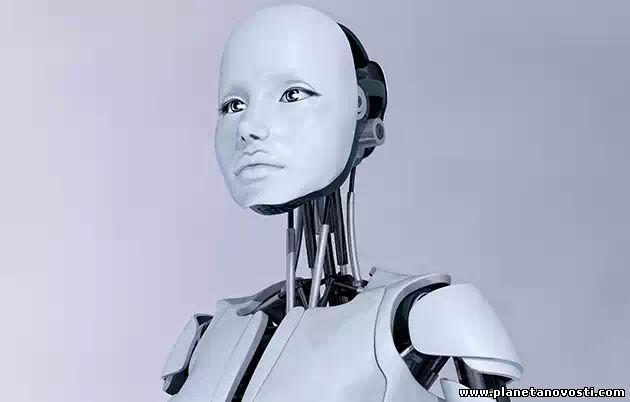 """Робот, который умеет потеть и пускать """"мурашки"""" по коже"""