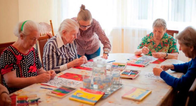 Дома престарелых: чудеса игровой терапии