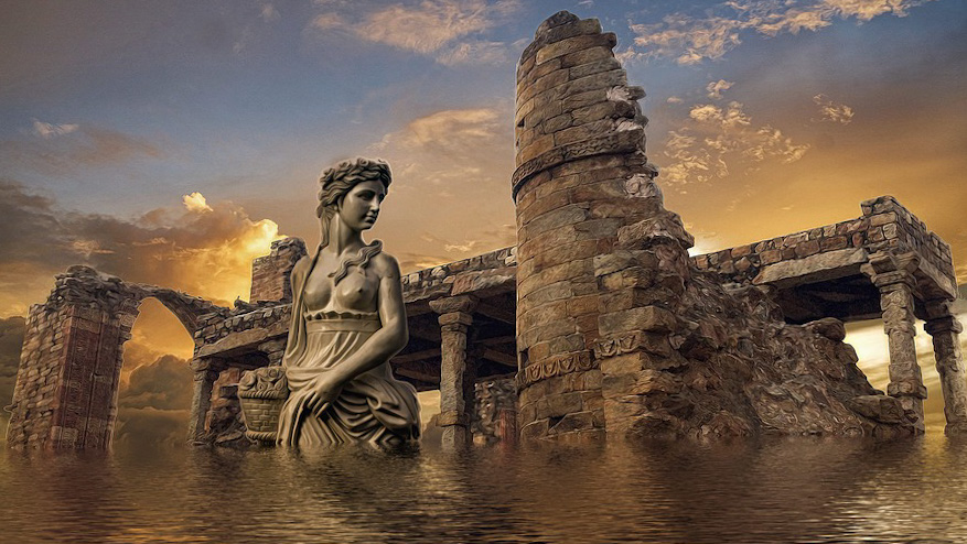 У берегов Испании нашли постройку, которая принадлежала атлантам