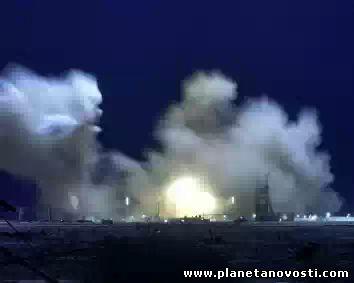 Протон с самым мощным российским спутником рухнул на 10-й минуте полета