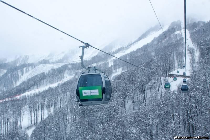 Непогода приближается к олимпийскому Сочи