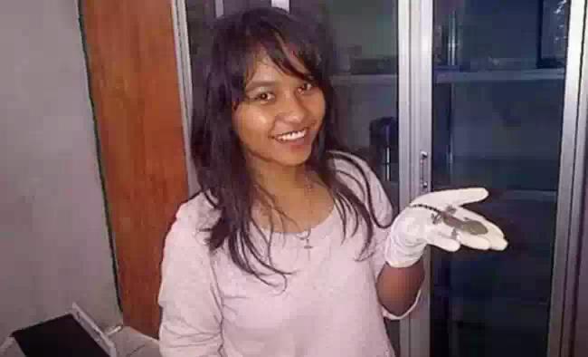 В Индонезии женщина родила Ящерицу