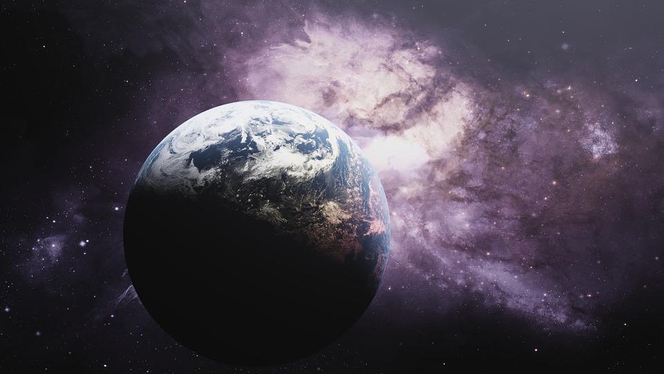Землю накрыл ураган из темной материи