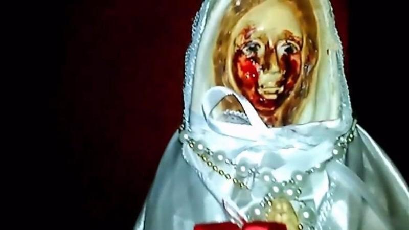 В Аргентине статуя Девы Марии «заплакала кровью»