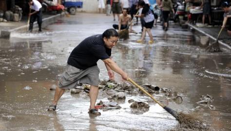 Китай: 18 погибших от наводнения